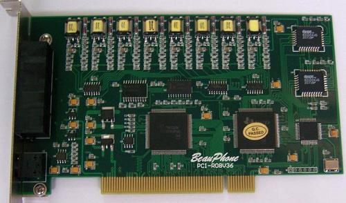 Telephone Voice Recording 8-Port PCI Board  电话录音 PCI 卡