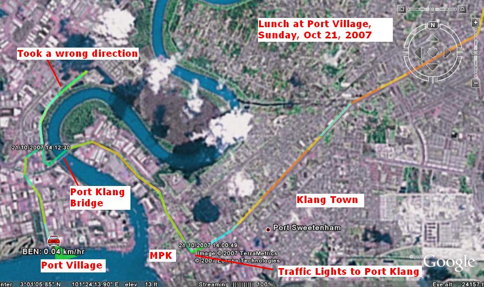 click here to get see GPS Track